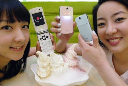 LG Ice Cream mobil